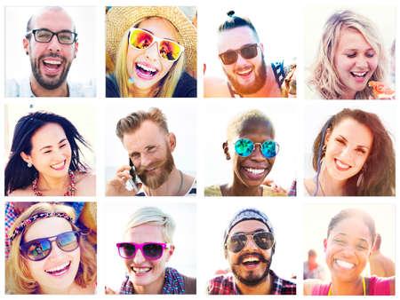 amistad: Retrato Amigos Amistad Uni�n Fun Concept