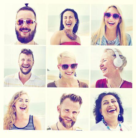 zweisamkeit: Freunde Freundschaft Portrait Zusammenhalt Spa�-Konzept