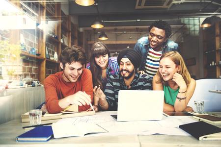 Designer Teamwork Brainstorming Planning Interior Concept Stock fotó