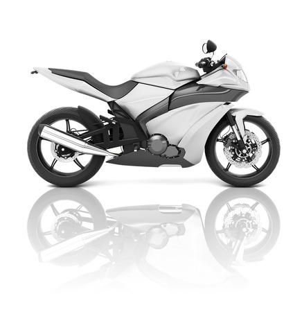 roadster: Motorbike Motorcycle Bike Roadster Transportation Concept Stock Photo
