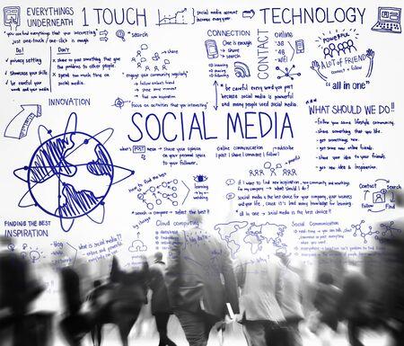 vida social: Tecnolog�a Social Media Comunicaci�n Global Concept