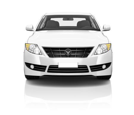Illustration des Transporttechnik-Auto-Leistungs-Konzeptes Standard-Bild - 45625975