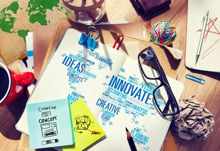 Innovation Inspiration Creativity Ideas Progress Innovate Concept Stock Photo