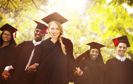 commencement: Graduation Student Commencement University Degree Concept