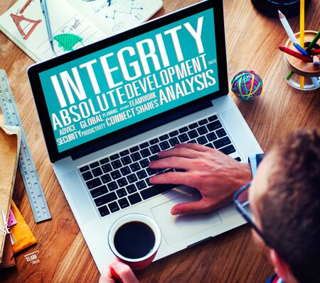 integrity: Integrity Structure Service Analysis Value Service Concept Stock Photo