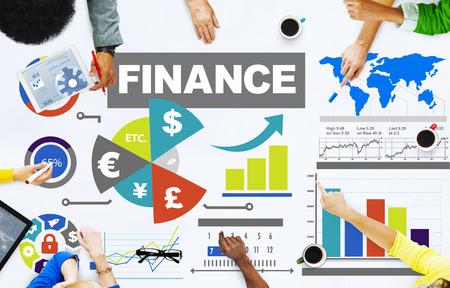 bar charts: finance bar graph chart investment money business concept