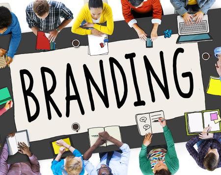 brand identity: Branding Brand Marketing Business Strategy Identity Concept