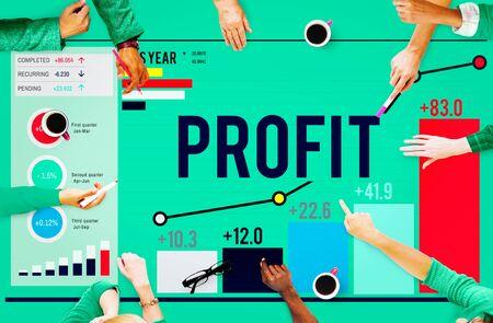 accumulation: Profit Benefit Financial Income Growth Concept