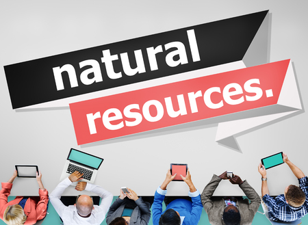 recursos naturales: Natural Resources Environmental Earth Energy Concept