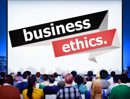 honesty: Business Ethics Integrity Honesty Trust Concept
