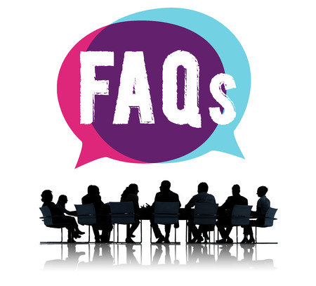 faq: Frequently Asked Questions Faq Feedback Information Concept