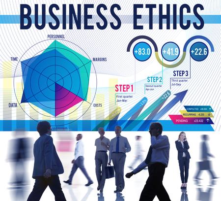 business ethics: Business Ethics Integrity Moral Responsibiliyt Honest Concept