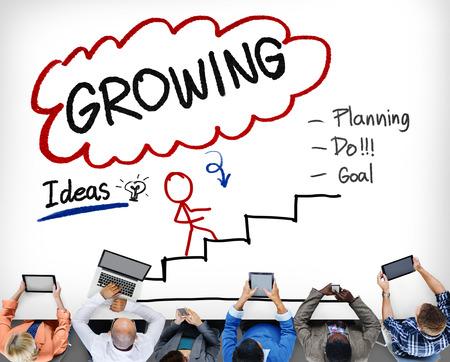 Groeiende Process Improvement Planning Ontwikkeling Concept