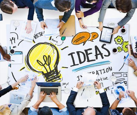 human vision: Ideas Innovation Creativity Knowledge Inspiration Vision Concept