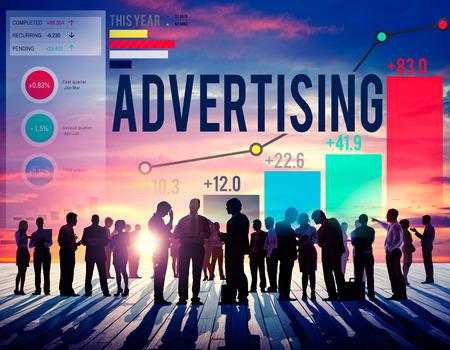 human figure: Campaña de Marketing Publicidad Promoción Branding Concepto Foto de archivo