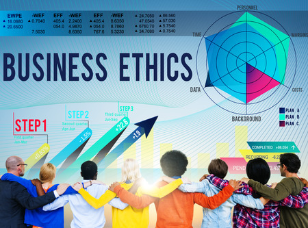 Business Ethics Integrity Moral Responsibiliyt Honest Concept