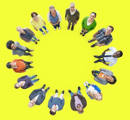 ethnicity: People Multiethnic Group Diversity Community Ethnicity Concept Stock Photo