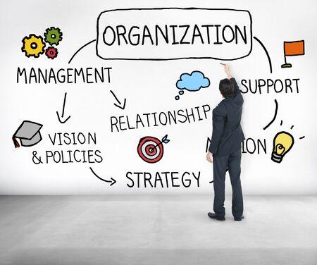 nonprofit: Organization Management Team Group Company Concept Stock Photo
