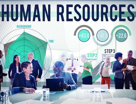 job occupation: Human Resources Job Occupation Employment Concept
