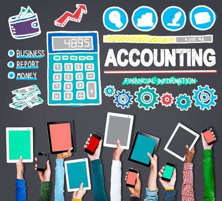 accounting: Contabilidad Finanzas Dinero Banca Concepto Negocios