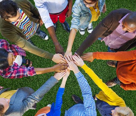 팀 회사 팀워크 협업 지원 개념 스톡 콘텐츠