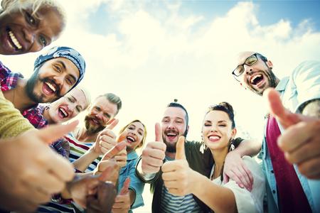 přátelé: Přátelům přátelství Stejně jako palec nahoru pospolitosti Fun Concept
