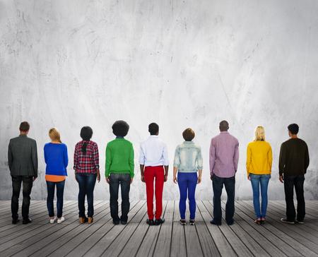 ethnicity: Diverse Diversity Ethnic Ethnicity Unity Variation Concept Stock Photo