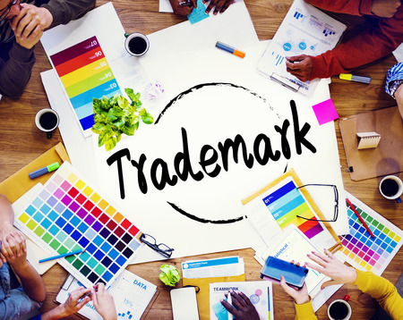 trademark: Trademark Product Marketing Identity Copyright Concept