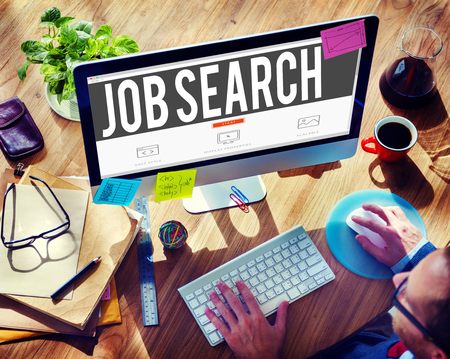 Recherche d'emploi Carrière embauche Opportunity concept d'emploi Banque d'images - 45903847