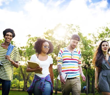diversity: Diversity Teenagers Friends Friendship Team Concept
