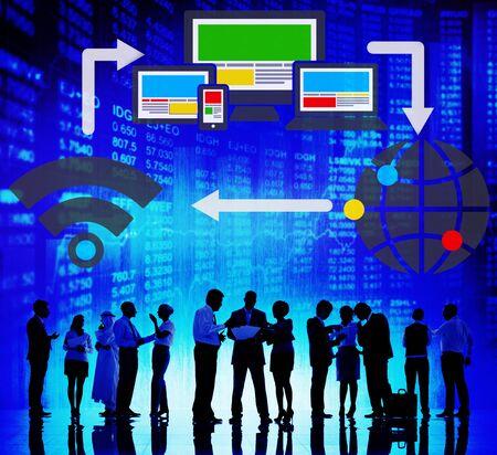 computer netzwerk: Computer Network Internet Technology Connection Concept Lizenzfreie Bilder