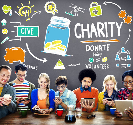provide: Charity Donate Help Give Saving Sharing Support Volunteer Concept
