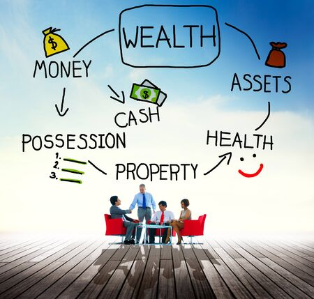 Wealth Money Possession Investment Growth Concept