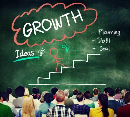 develope: Growth Planning Ideas Goal Development Concept