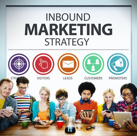 commerce: Inbound Marketing Strategy Commerce Solution Concept