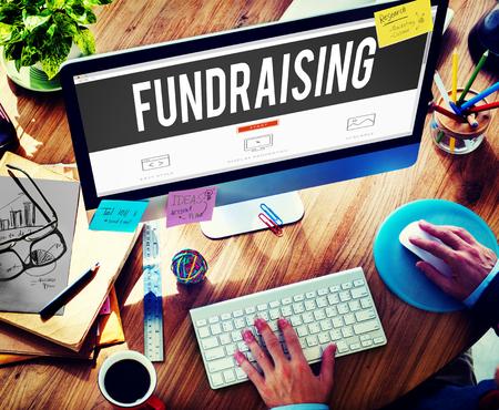 Fundraising Funding Finance Economy Donation Concept