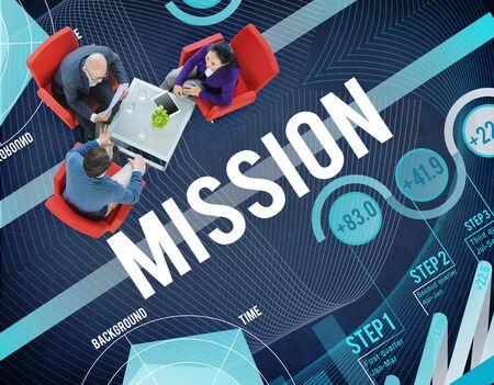 aspiration: Mission Inspiration Aspiration Strategy Concept