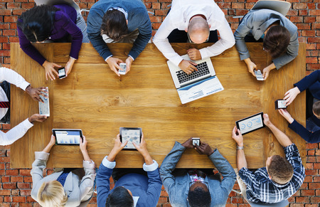 comunicación: Comunicación Conexión Dispositivos Digitales Tecnología Concepto
