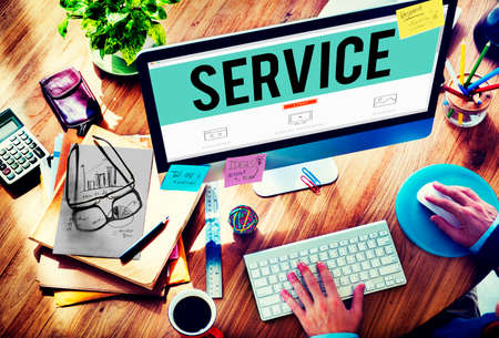place of employment: Service Loyalty Strategy Customer Help Concept