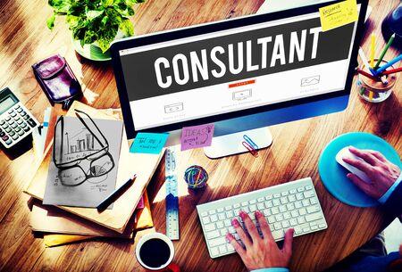 advise: Consultant Advise Advisor Experience Information Concept
