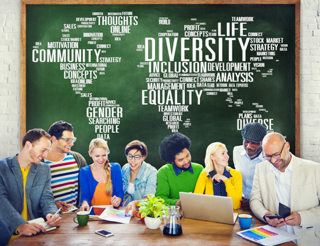 different strategy: Diversity Ethnicity World Global Community Concept