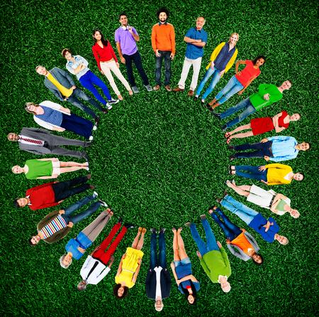 ethnicity: People Diversity Group Global Community Ethnicity Concept Stock Photo