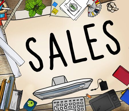 income: Sales Selling Accounting Income Money Concept