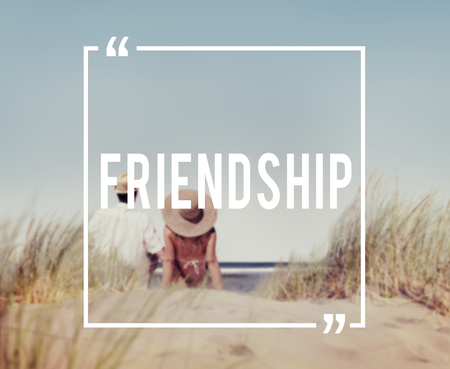 companionship: Friends Friendship Companionship Fellowship Togetherness Concept