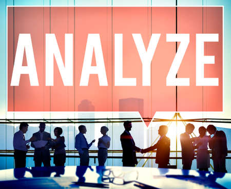 analyze: Analyze Analysis Data Information Planning Statistics Concept