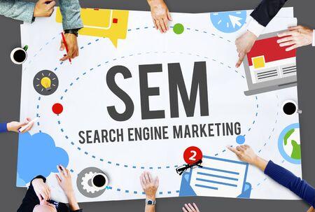 engine: Search Engine Marketing Branding Technology Concept