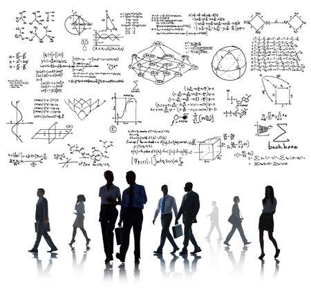 equation: Formula Mathematics Equation Mathematical Symbol Geometry Information Concept Stock Photo