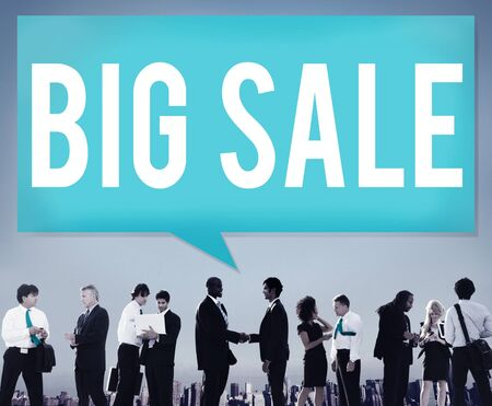 buying: Big Sale Bonus Buying Cheap Discount Promotion Concept