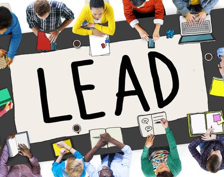 role model: Lead Leadership Chief Team Partnership Concept