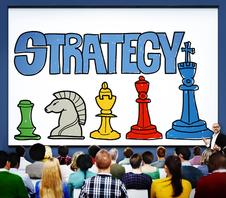 People with strategy concept